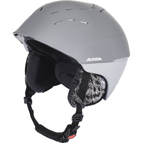Alpina Spice Casco de esquí, grey matt
